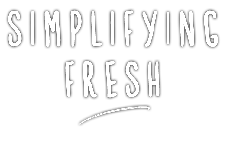 Simplifying Fresh Logo