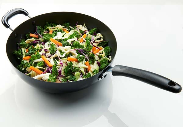 Stir-Fry Vegetables Wok